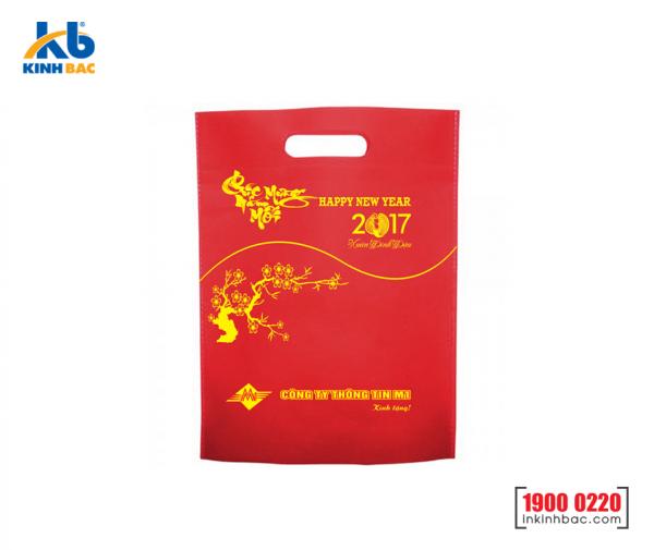 Túi vải đựng lịch tết - TDL12