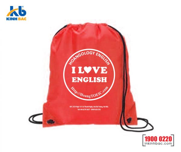 Túi vải không dệt du học - TDH08