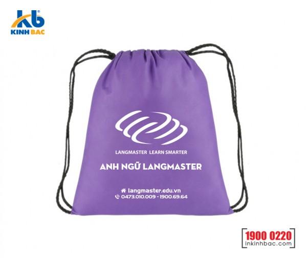 Túi vải không dệt dây rút - TDR09