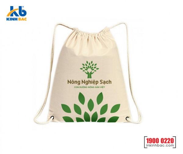 Túi vải không dệt dây rút - TDR018