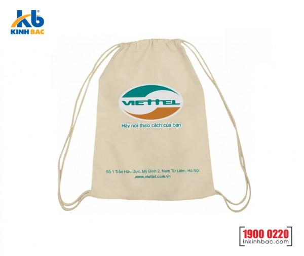 Túi vải không dệt dây rút - TDR01