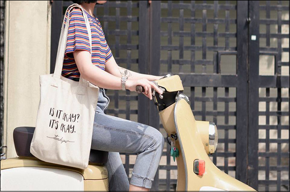 Túi vải bố - xu hướng mới của giới trẻ hiện đại